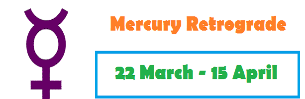 Mercury Retrograde in April 2018